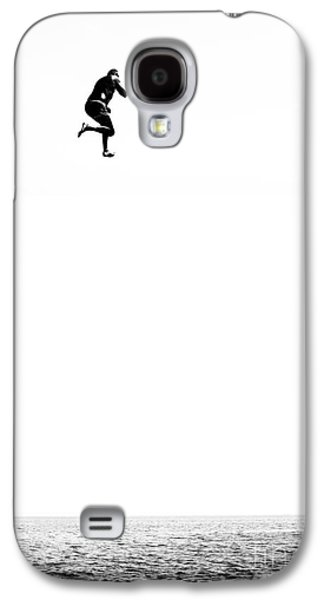 Water Play Galaxy S4 Cases - Leap Of Faith Galaxy S4 Case by Stylianos Kleanthous