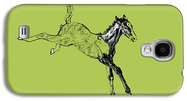 Leaping Foal Galaxy S4 Case by JAMART Photography