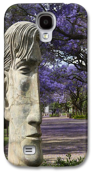 Busines Galaxy S4 Cases - Learning to love purple Galaxy S4 Case by Taschja Hattingh