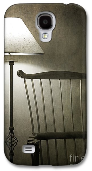 Contemplative Photographs Galaxy S4 Cases - Leave the Light On Galaxy S4 Case by Terry Rowe