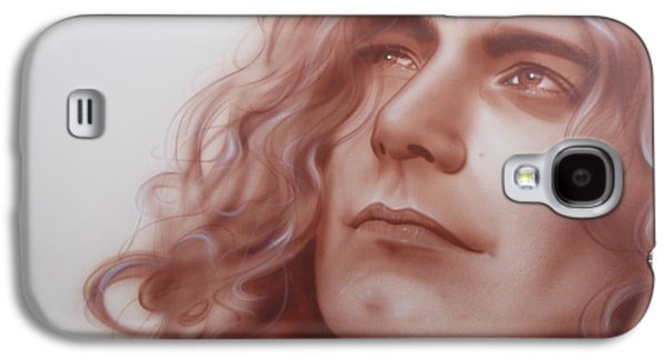 Led Zeppelin Paintings Galaxy S4 Cases - Leaves are Falling all Around Galaxy S4 Case by Christian Chapman Art