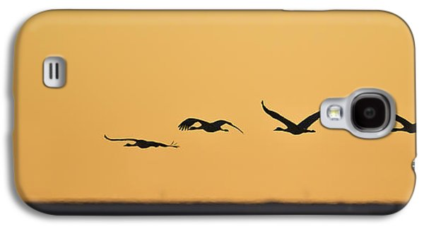 Bird Ceramics Galaxy S4 Cases - Leaving Galaxy S4 Case by Luc Parent