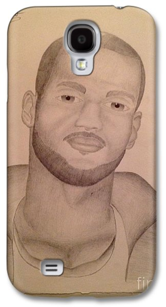Hop Drawings Galaxy S4 Cases - Lebron James Galaxy S4 Case by Young CHOICE