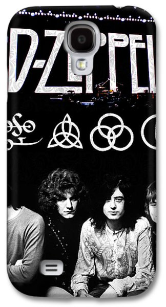 Schools Galaxy S4 Cases - Led Zeppelin Galaxy S4 Case by FHT Designs
