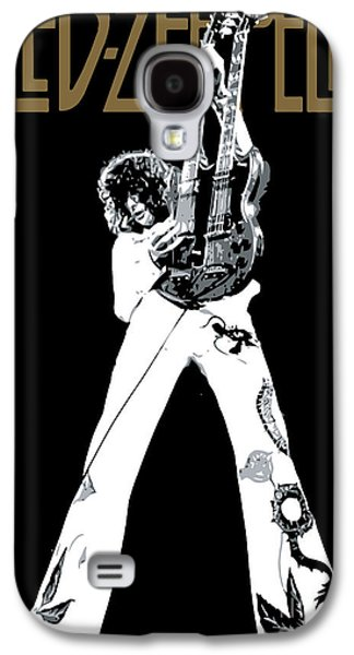 Famous Artist Galaxy S4 Cases - Led Zeppelin No.06 Galaxy S4 Case by Caio Caldas