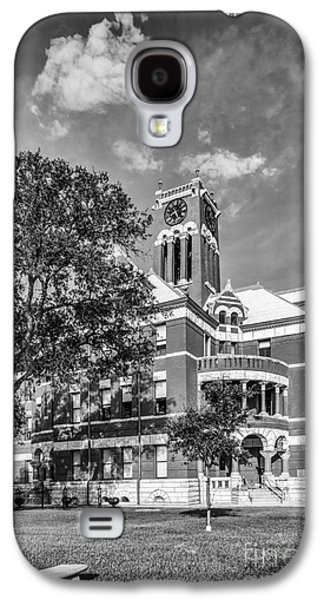 Photographs With Red. Galaxy S4 Cases - Lee County Courthouse in Giddings Texas Galaxy S4 Case by Silvio Ligutti