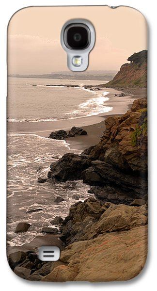 Coast Highway One Galaxy S4 Cases - Leffingwell Landing Cambria Galaxy S4 Case by Barbara Snyder