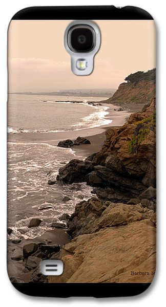 Coast Highway One Galaxy S4 Cases - Leffingwell Landing Cambria Duvet Galaxy S4 Case by Barbara Snyder