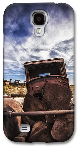 Rusted Cars Galaxy S4 Cases - Left to Rust Galaxy S4 Case by Anthony Citro
