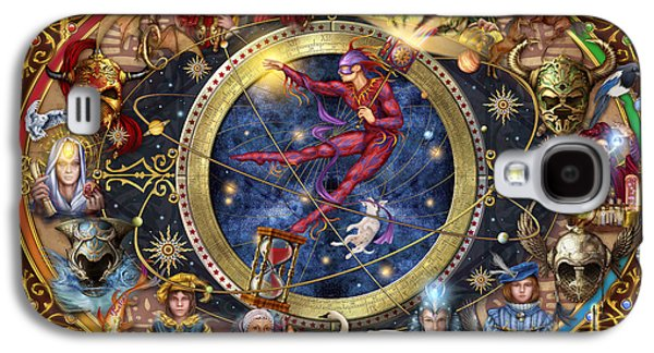 Knight Galaxy S4 Cases - Legacy of the Divine Tarot Galaxy S4 Case by Ciro Marchetti