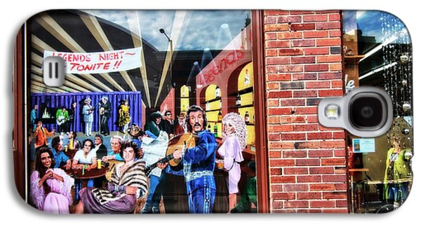 Legends Bar In Downtown Nashville Galaxy S4 Case by Dan Sproul