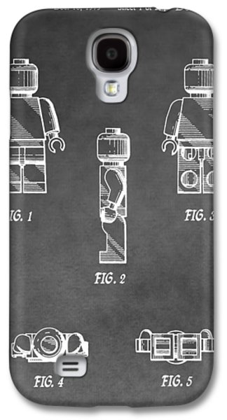 Toy Store Galaxy S4 Cases - Lego Minifig Patent Galaxy S4 Case by Dan Sproul