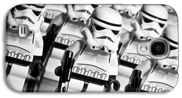 Character Portraits Photographs Galaxy S4 Cases - Lego Storm Trooper Army Galaxy S4 Case by Samuel Whitton