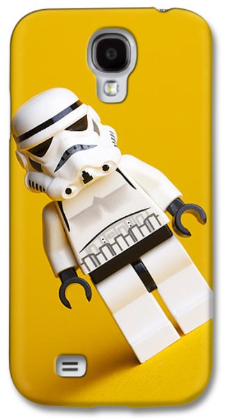 Star Alliance Photographs Galaxy S4 Cases - Lego Stormtrooper Galaxy S4 Case by Samuel Whitton