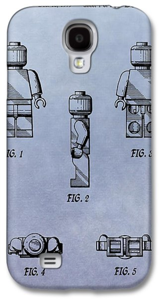 Toy Store Galaxy S4 Cases - Lego Toy Patent Galaxy S4 Case by Dan Sproul