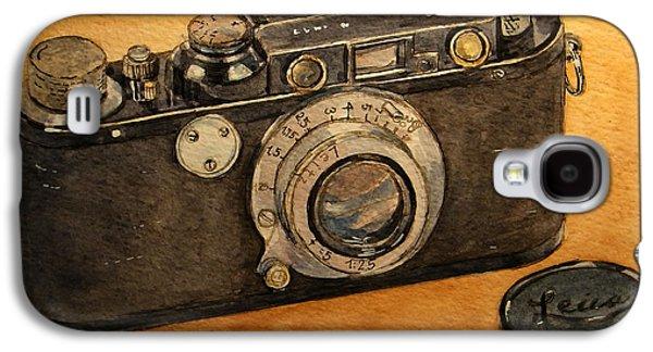 Analog Galaxy S4 Cases - Leica II camera Galaxy S4 Case by Juan  Bosco