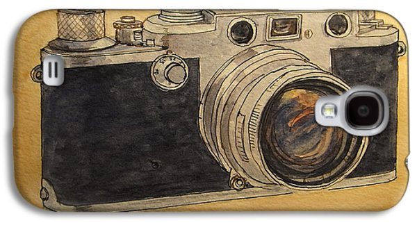 Analog Galaxy S4 Cases - Leica IIIf Galaxy S4 Case by Juan  Bosco