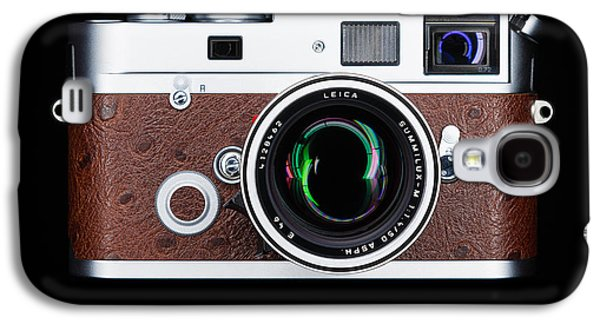 35mm Galaxy S4 Cases - Leica M7 Galaxy S4 Case by Dave Bowman