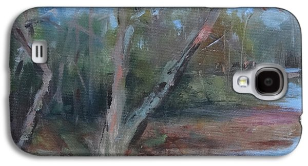 Leipers Fork Galaxy S4 Cases - Leipers Creek Study Galaxy S4 Case by Carol Berning