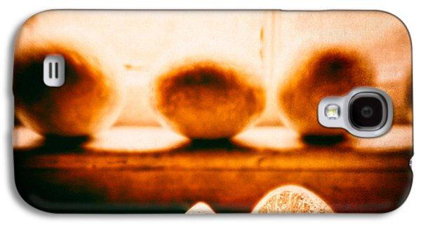 Orange Photographs Galaxy S4 Cases - Lemon Among Oranges Galaxy S4 Case by Bob Orsillo