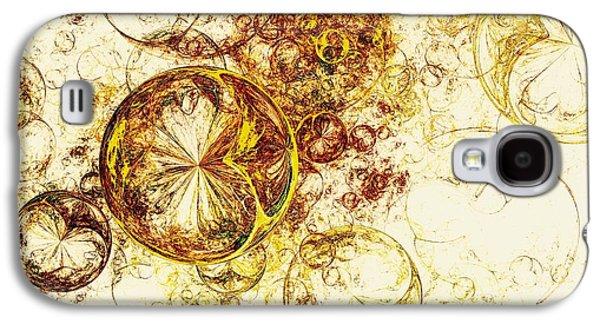 Lemon Bubbles Galaxy S4 Case by Anastasiya Malakhova