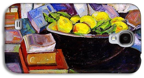 Lemon Meringue Galaxy S4 Case by Charlie Spear