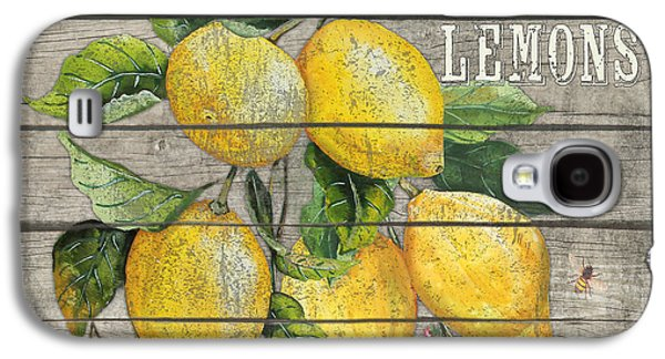 Locally Grown Galaxy S4 Cases - Lemons-JP2679 Galaxy S4 Case by Jean Plout