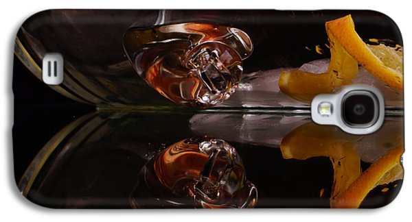 Still Life Glass Art Galaxy S4 Cases - Lemons on the Rocks Galaxy S4 Case by Angelika Sauer