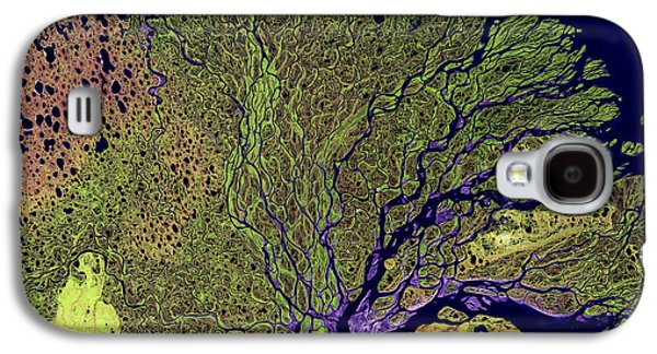 Recently Sold -  - Nature Abstracts Galaxy S4 Cases - Lena River Delta Galaxy S4 Case by Adam Romanowicz