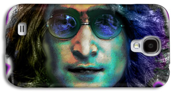 Austin ist Digital Galaxy S4 Cases - Haunting Lennon  Galaxy S4 Case by Dan Terry