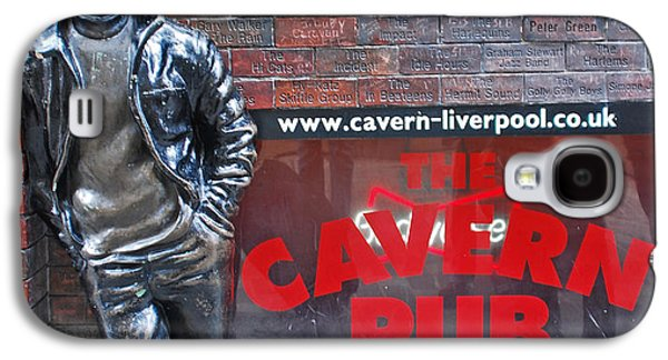 Beatles Photographs Galaxy S4 Cases - Lennon at the Cavern Galaxy S4 Case by Nomad Art And  Design