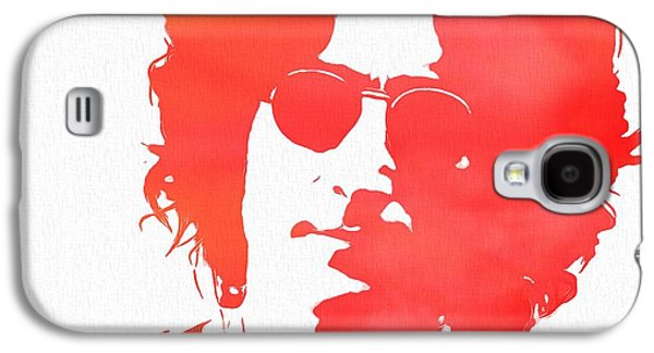 Beatles Galaxy S4 Cases - Lennon Galaxy S4 Case by Dan Sproul