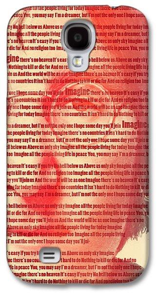 Lennon  Galaxy S4 Case by Mark Ashkenazi