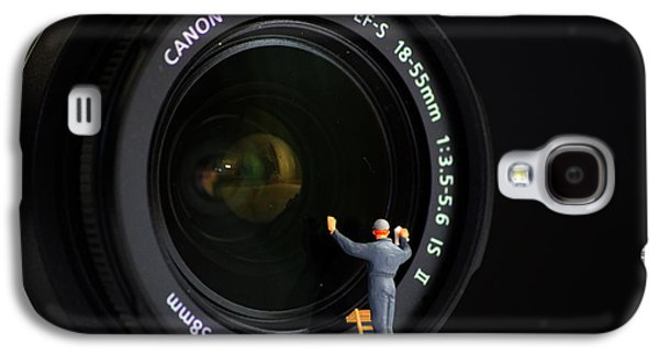 Miniature Photographs Galaxy S4 Cases - Lens Cleaner Galaxy S4 Case by Martin Newman