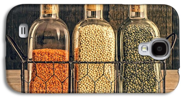 Dried Photographs Galaxy S4 Cases - Lentils - Kitchen Art Galaxy S4 Case by Edward Fielding