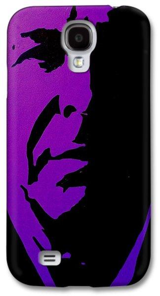 Icon Paintings Galaxy S4 Cases - Leonard Cohen Galaxy S4 Case by John  Nolan