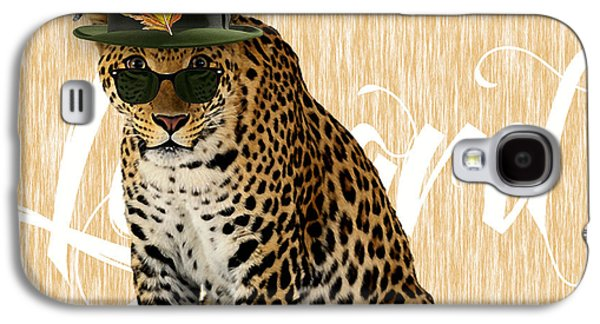 Leopard Collection Galaxy S4 Case by Marvin Blaine