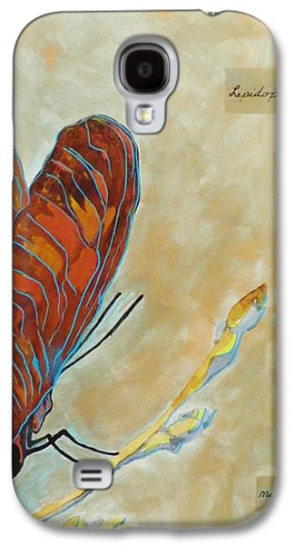Boardroom Mixed Media Galaxy S4 Cases - Lepidoptera Galaxy S4 Case by David Raderstorf