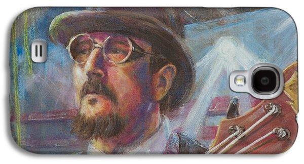 Flying Frog Galaxy S4 Cases - Les Claypool Galaxy S4 Case by Josh Hertzenberg