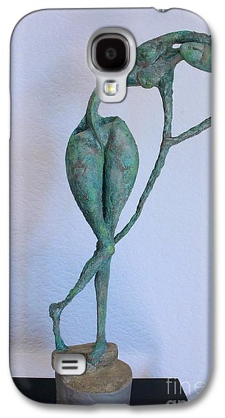 Nudes Sculptures Galaxy S4 Cases - Les filles de lAsse 3 Galaxy S4 Case by Flow Fitzgerald
