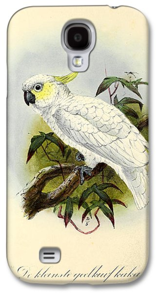 Lesser Cockatoo Galaxy S4 Case by J G Keulemans