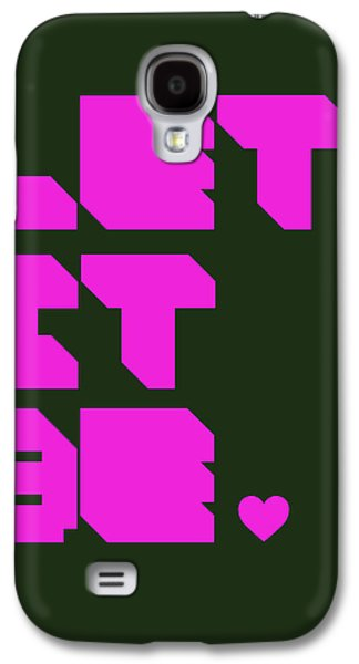 Fun Digital Galaxy S4 Cases - Let It Be 2 Galaxy S4 Case by Naxart Studio