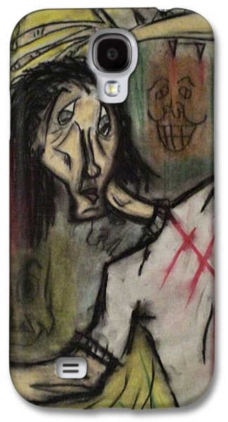 Creepy Pastels Galaxy S4 Cases - Let Me live. Galaxy S4 Case by Albert Mendez