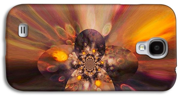 Inner Self Digital Art Galaxy S4 Cases - Let Self-Love Enhance Your Inner Beauty Galaxy S4 Case by Tanya Levy
