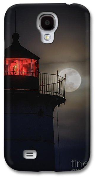 Cape Neddick Lighthouse Galaxy S4 Cases - Let the Tetrad Begin Galaxy S4 Case by Scott Thorp