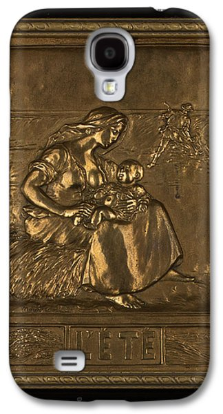 People Sculptures Galaxy S4 Cases - LETE  Summer Galaxy S4 Case by Marcel Debut