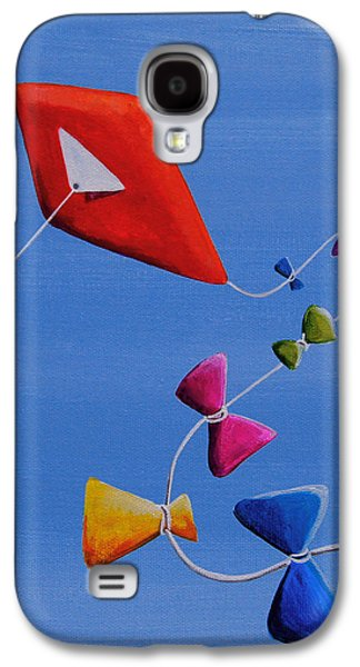 Kite Galaxy S4 Cases - Lets Go Fly A Kite Galaxy S4 Case by Cindy Thornton