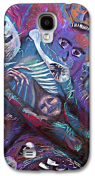 Creepy Pastels Galaxy S4 Cases - Letting Out the Scary Galaxy S4 Case by David Wallace