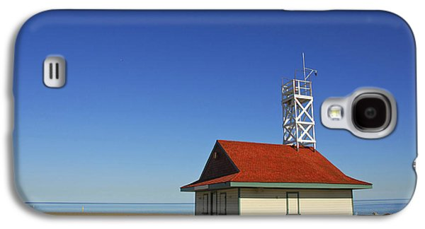 Saving Galaxy S4 Cases - Leuty Lifeguard Station in Toronto Galaxy S4 Case by Elena Elisseeva