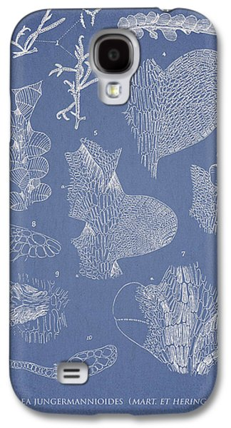 Ornamental Digital Art Galaxy S4 Cases - Leveillea jungermannioides Galaxy S4 Case by Aged Pixel